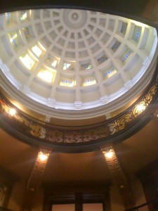 Harrison County Texas Courthouse Inside the Dome